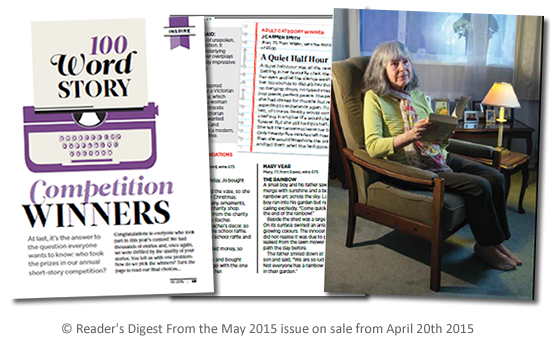 Reader's Digest 100 Word Story Competition