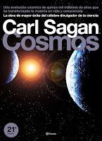 Resultado de imagen para carl sagan cosmos libro
