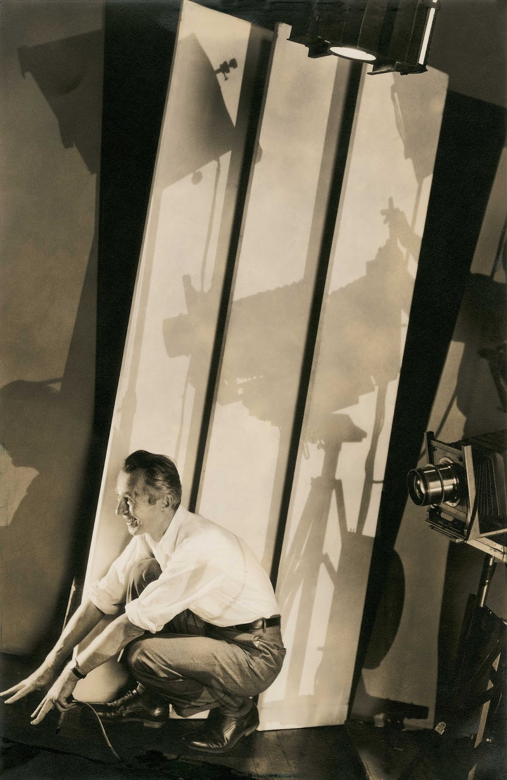 Self-portrait with photographic paraphernalia, . Edward Steichen. Fotografía | Photography