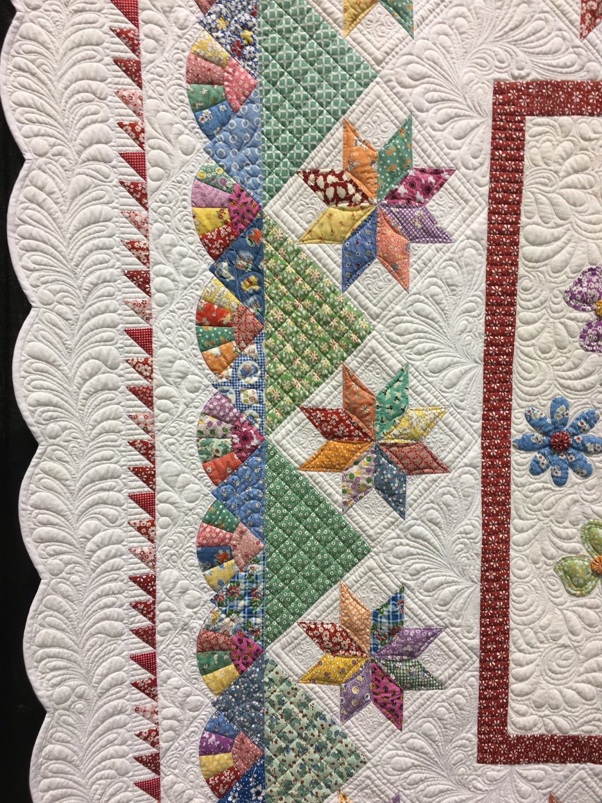 Blooming In Chintz My Patterns And Aqs Daytona Show