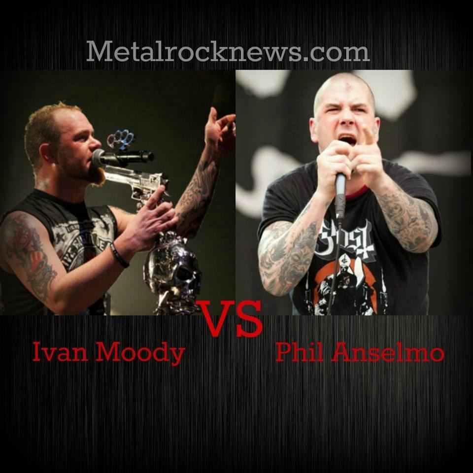 Ivan Moody vs Phil Anselmo  Vote your  quot Best Frontman quot Ivan Moody 2014