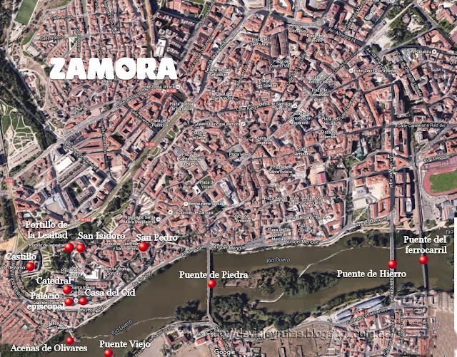 Recorrido de Zamora