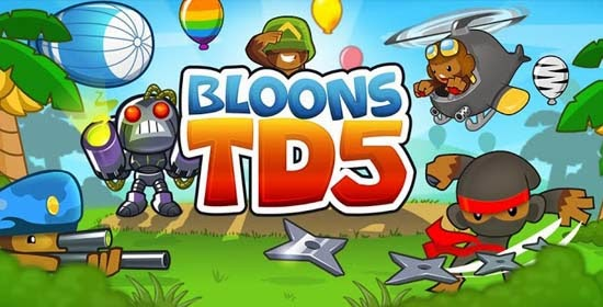 Bloons TD 5 Apk + Data
