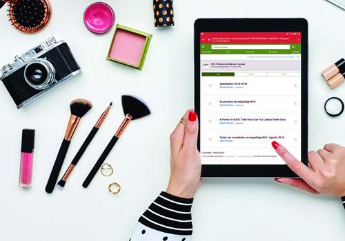 Ventajas de comprar maquillaje por Internet