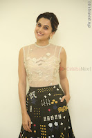 Taapsee Pannu in transparent top at Anando hma theatrical trailer launch ~  Exclusive 013.JPG