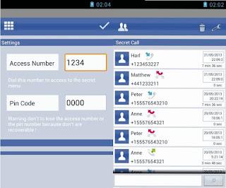 Aplikasi Hide Calls Automatically