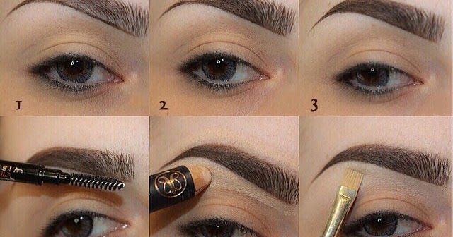 HOW TO FILL AND SHAPE YOUR EYEBROWS PERFECTLY