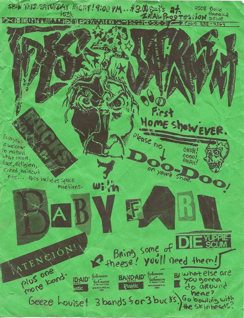 David's Flyers - 03 - False Sacrament, Baby Farm - Zeal Progression