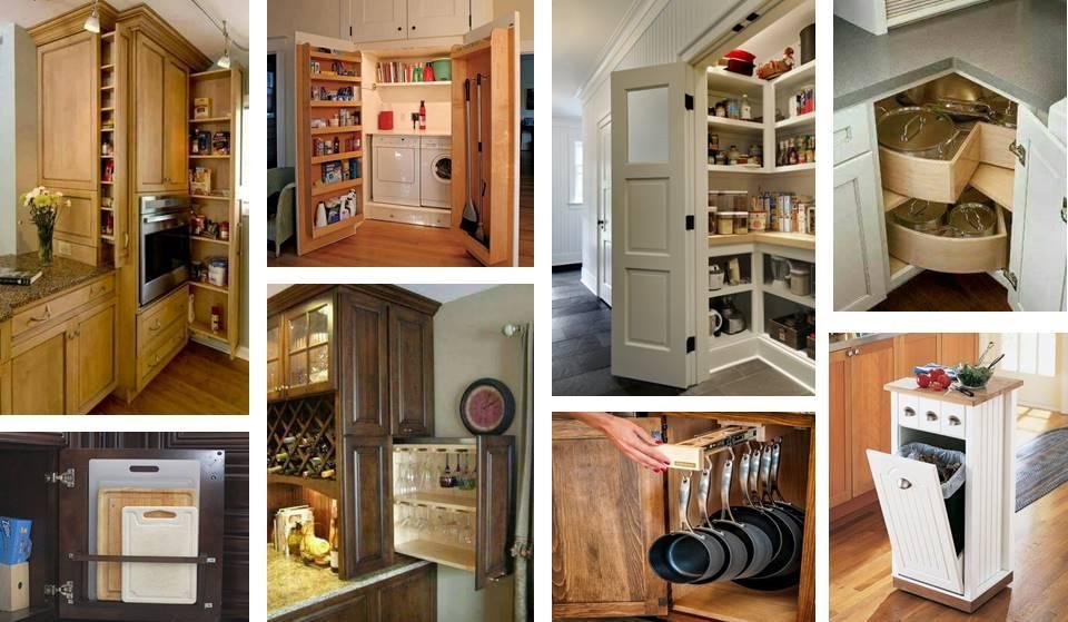 15 Unique Kitchen Storage Ideas