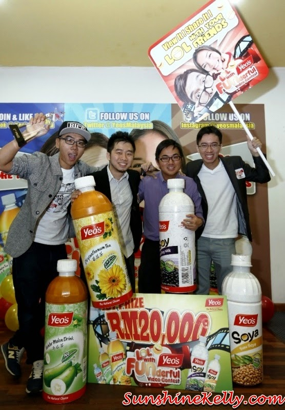 Yeo's Funderful Video Contest Winners, Yeo's Malaysia, Yeo's, funderful video contest, fun video, yeo's contest winners