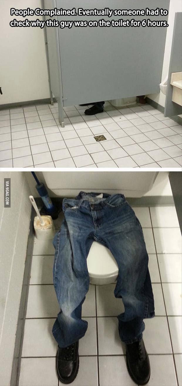 מתיחה בשירותים- אחד באפריל