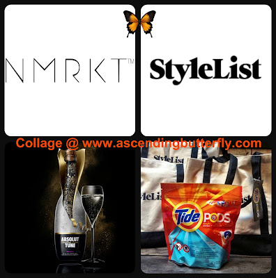 NMRKT Logo, StyleList Logo, Absolut Tune Sparkling Fusion, Tide Pods at New York Fashion Week, #streetstylerunway Fashion Show during #NYFW at Tequila Park at the Hudson Hotel in New York City