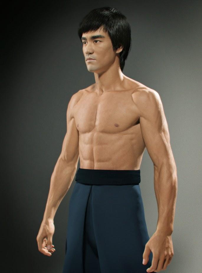 Model Lee Hyun Ji Yg Kplus: 3dartpol Blog: Bruce Lee 3D Model For UFC Game