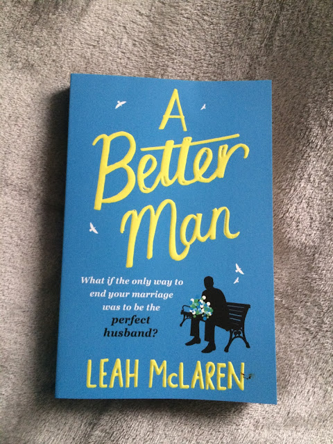 paperback copy of the book a better man