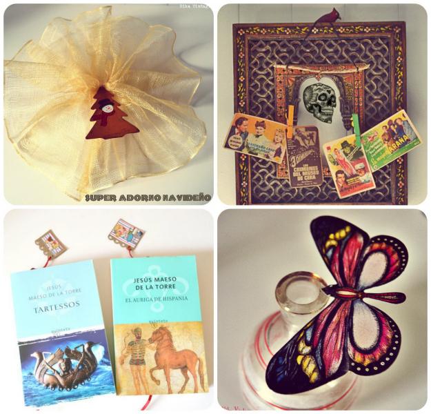 diy, hazlo tu mismo, lista, listado, manualidades, craft, repaso del año, marcapaginas, mariposa magica, adorno navidad, porta fotos halloween