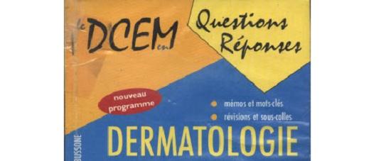 Télécharger | livre DCEM  en Questions Réponses QR Dermatologie PDF