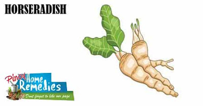 Home Remedies For Brown Spot On Skin: Horseradish
