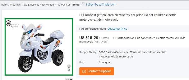 bisnis impor china