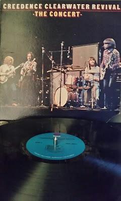 vinyl LP album concert bayou CCR image picture sound musique