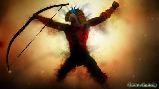 Abaçai deus indigena