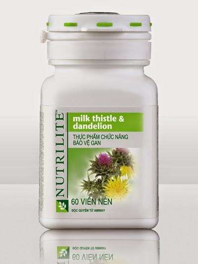 Nutrilite Milk Thistle & Dandelion của Amway giá rẻ