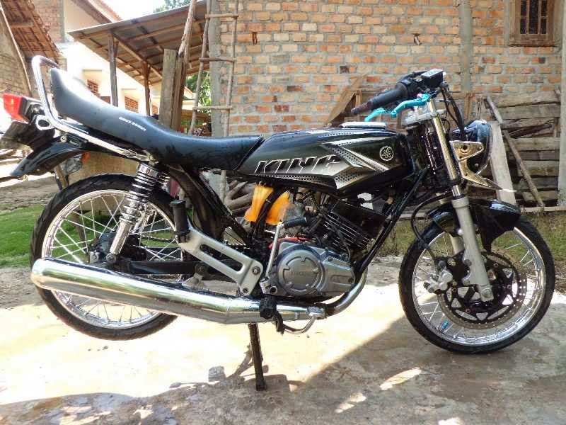 Modifikasi RX King drag minimalis