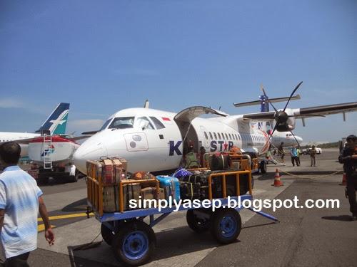 Pesawat Karlstar.  Foto Asep Haryono