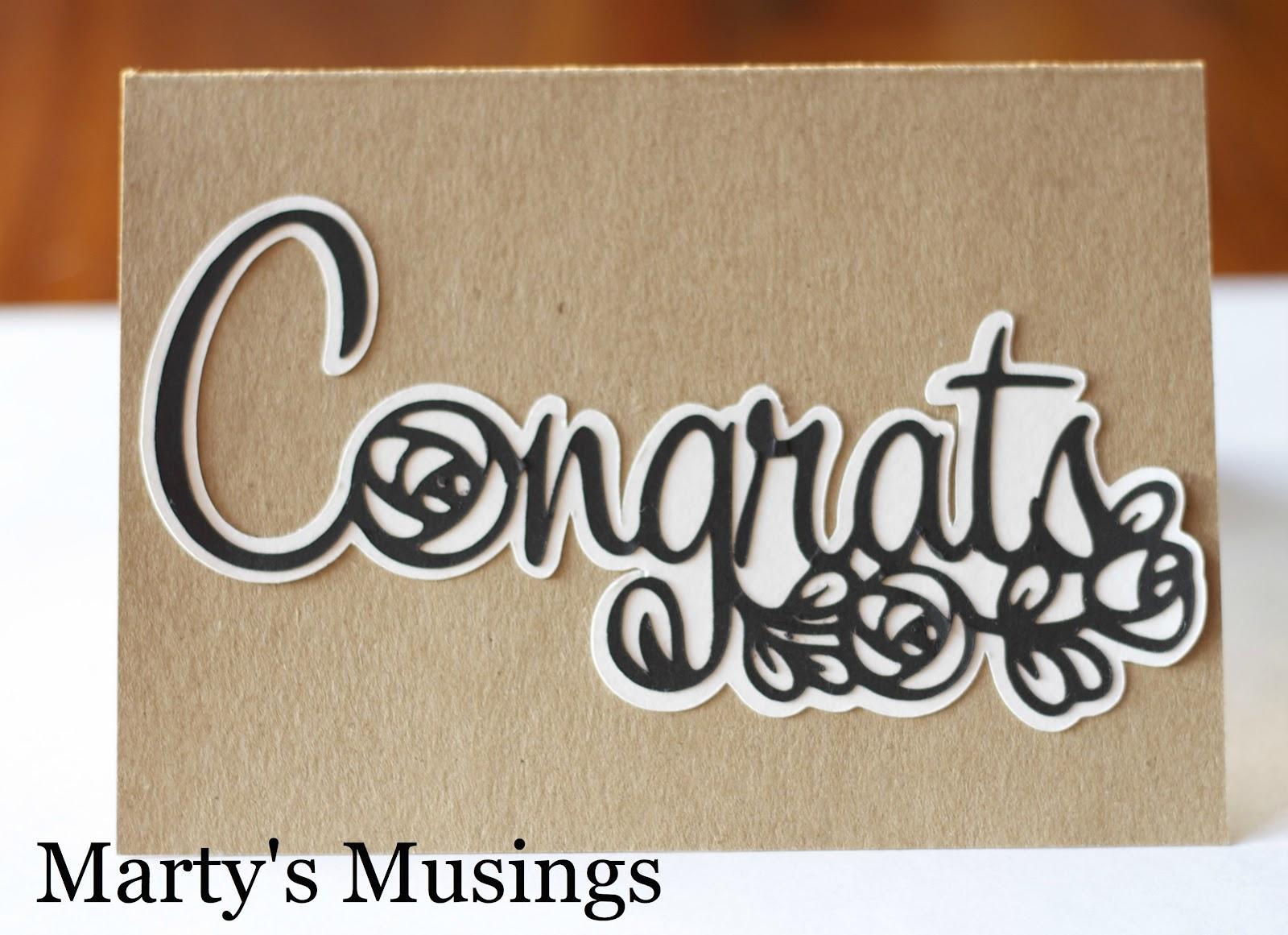 Congrats Graduation Card Marty S Musings