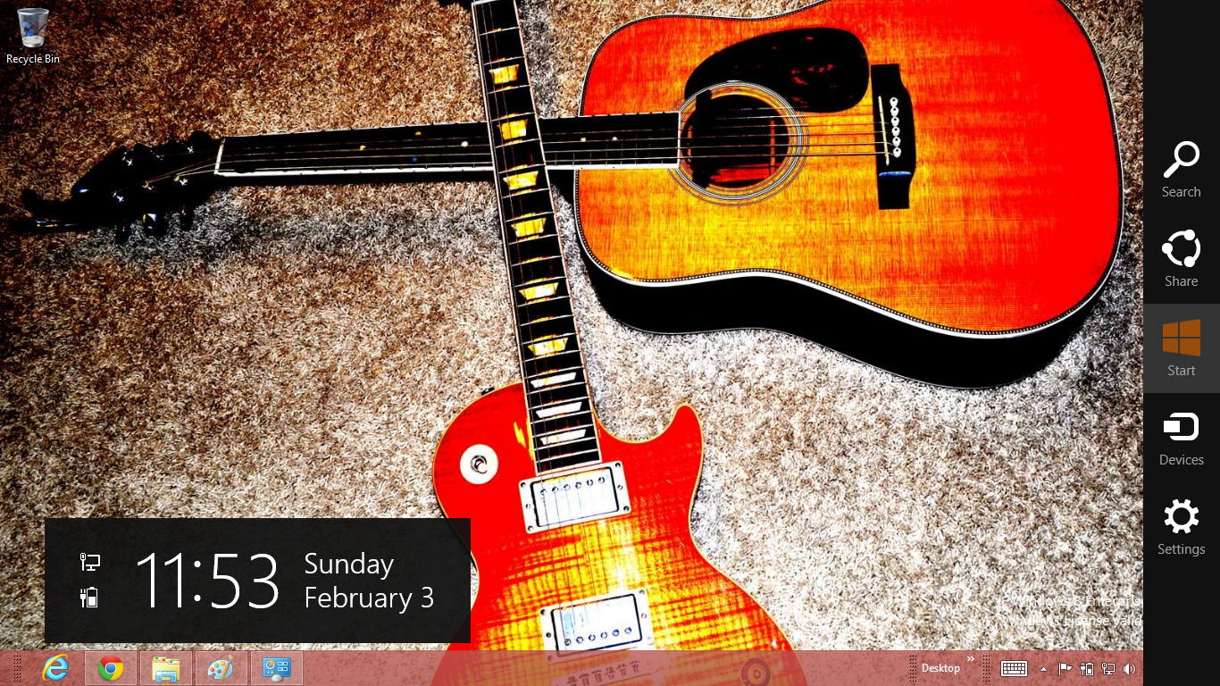 acoustic guitar theme for windows 8 ouo themes. Black Bedroom Furniture Sets. Home Design Ideas