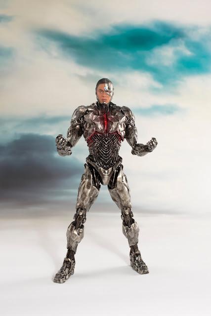 Cyborg ARTFX+ de Justice League - KOTOBUKIYA