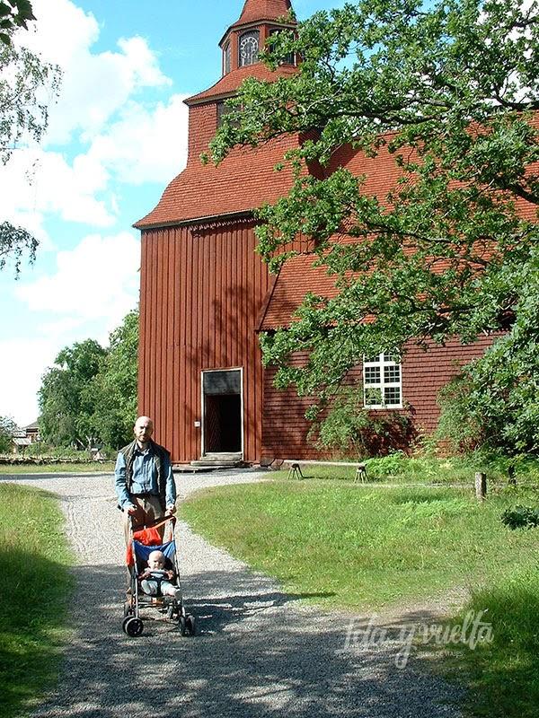 Iglesia en Skansen