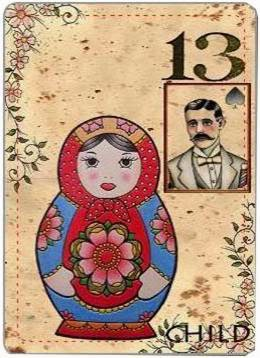 carta de lenormand 13 niño