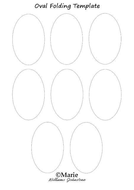 printable oval shapes sheet paper crafts