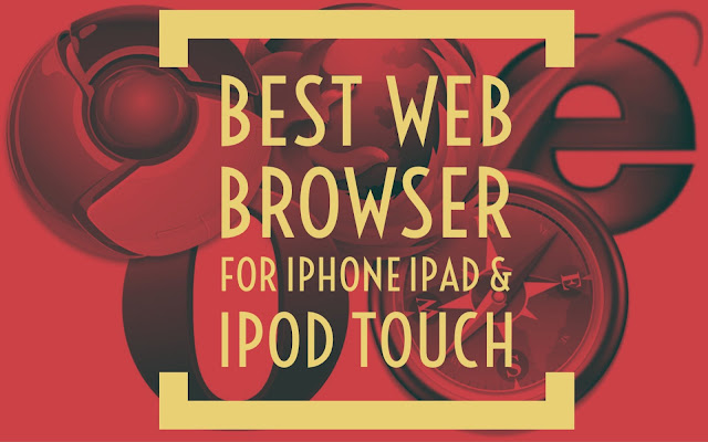 There are tons of web browsers but I am going to list only best free browser for iPhone. So let's get started!