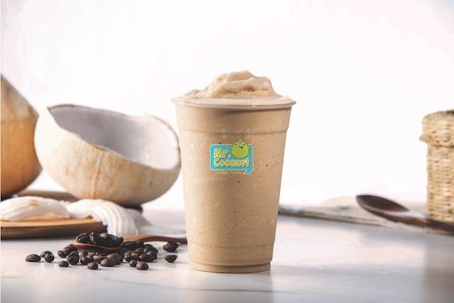 Mr Coconut Singapore - Cappuccino Shake
