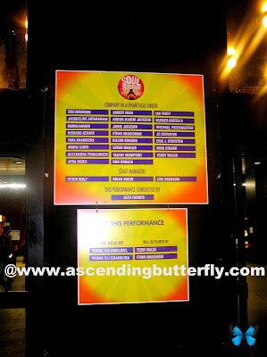 Soul Doctor Cast in Alphabetical Order Theatre Signage Watermarked