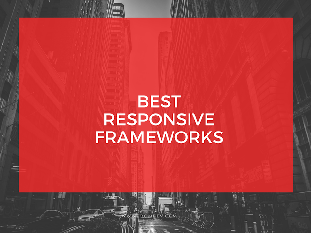 Most popular Responsive frameworks in 2016