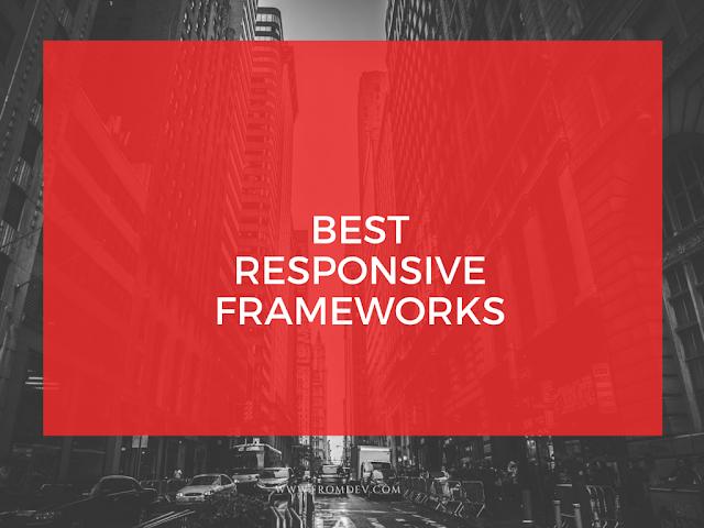 Most popular Responsive frameworks in 2016