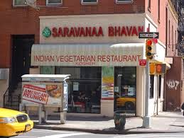 Hotel Saravana Bhavan in India and New York