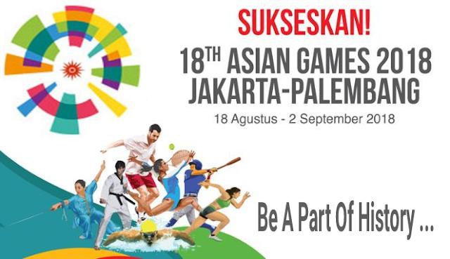 logo Asian games indonesia 2018