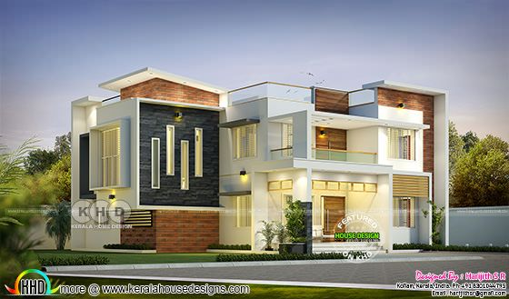 The Cantilevered Contemporary House @ 42 Lakhs