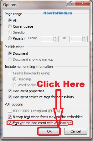 How to Create Password Protected PDF File Without Internet