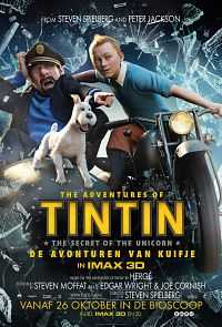 The Adventures of Tintin (2011) Hindi Dubbed Download 300mb Dual Audio DVDRip