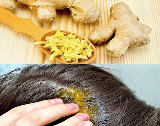 Masque capillaire au gingembre pour fortifier et pousser les cheveux