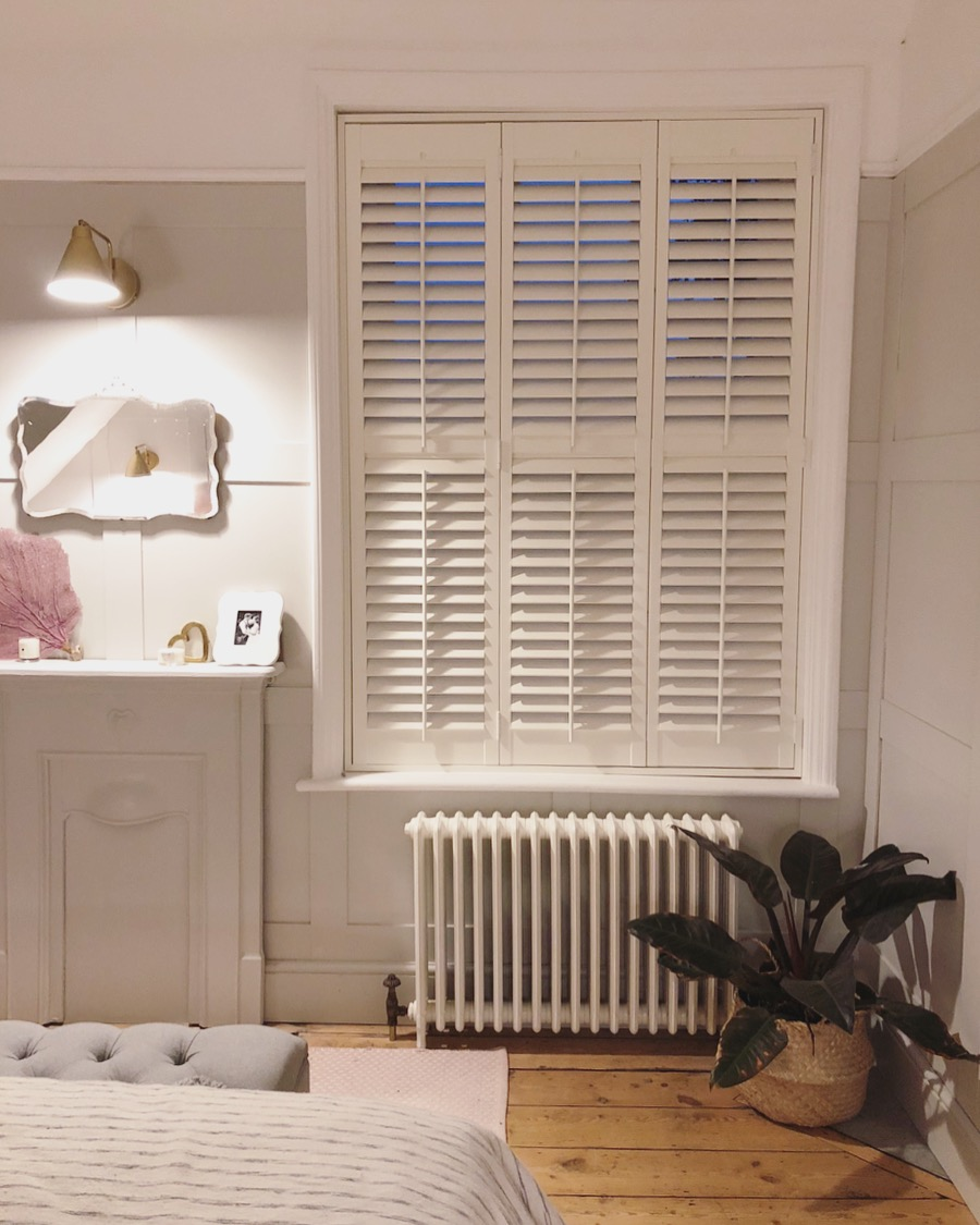 Interiors Fitting Shutters In Our Bedroom With The California Shutter Company And A Discount Code Roses And Rolltops