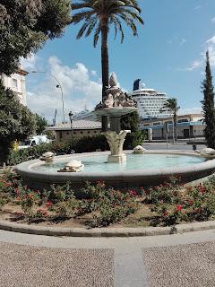 foto de la plaza de las tortugas