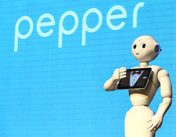Pepper將進軍台灣市場。圖片來源:蔡仁譯攝影。