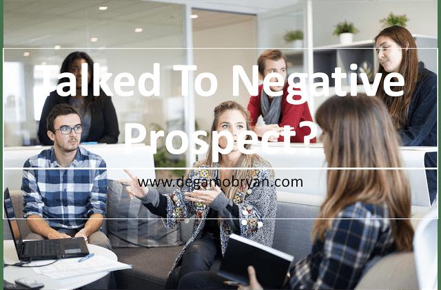 negative prospects