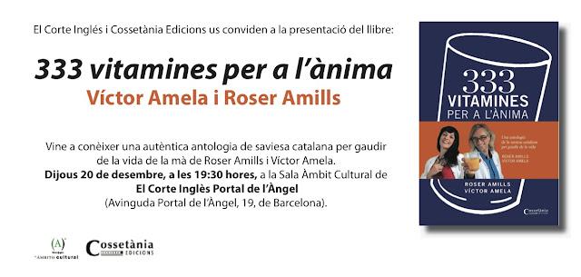20-12-2012 | #333vitamines a la Sala Àmbit Cultural de El Corte Inglès Portal de l'Àngel