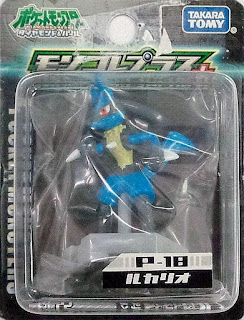 Lucario figure Takara Tomy Monster Collection MC Plus series